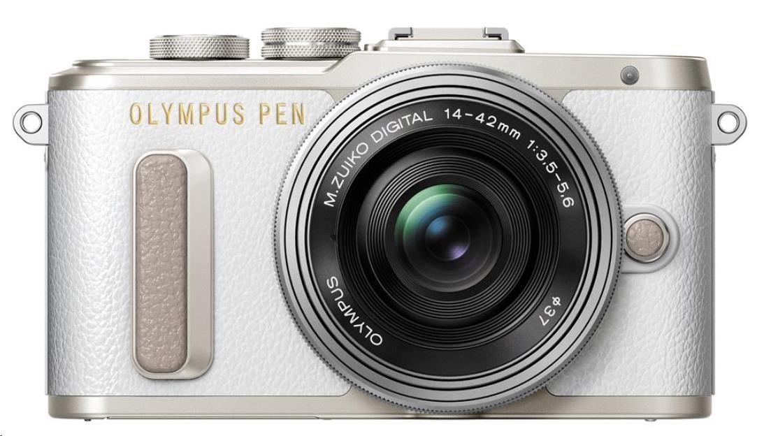 OLYMPUS PEN E-PL8 + 14-42 mm EZ - bílá