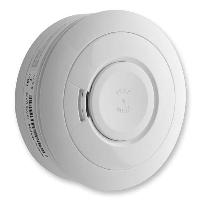 Honeywell evohome Security Smoke Alarm DFS8MS, bezdrátové kouřový detektor