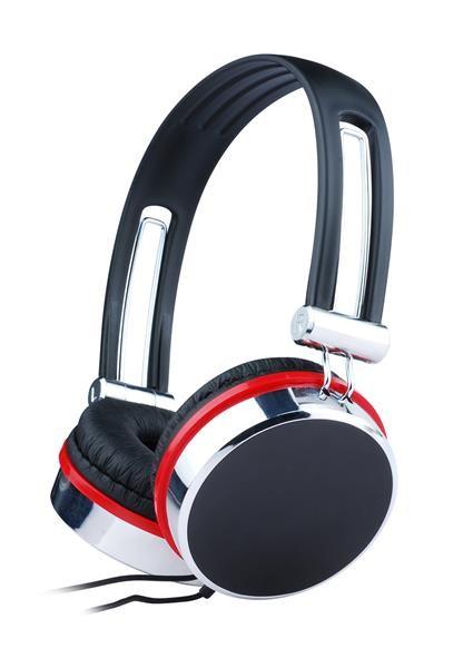 """BAZAR GEMBIRD sluchátka s mikrofonem MHS-903, černá """"POŠKOZENÝ OBAL"""""""