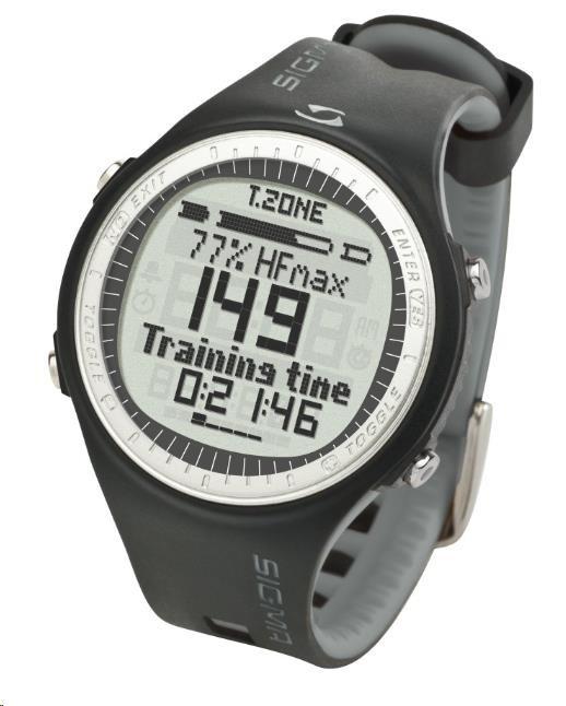 SIGMA PC 25.10 pulsmetr, šedá / pošk. obal