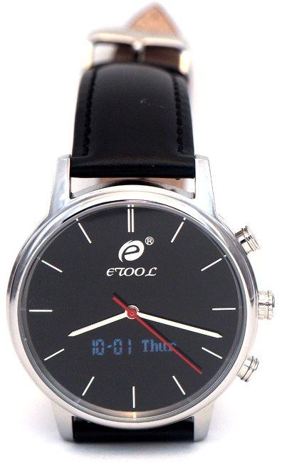 Deveroux etool SW9 společenské hodinky, stříbrné