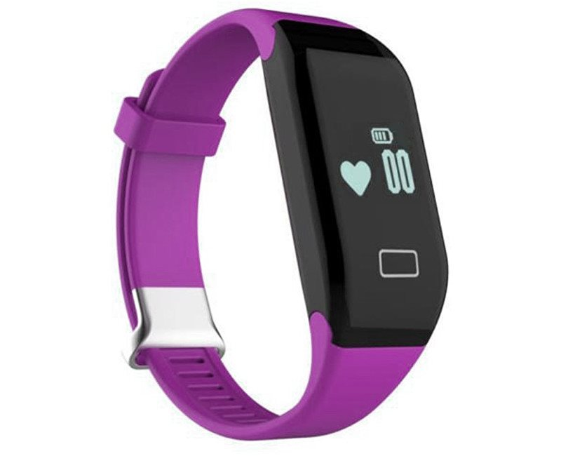 Deveroux H3 - fitness náramek, fialový