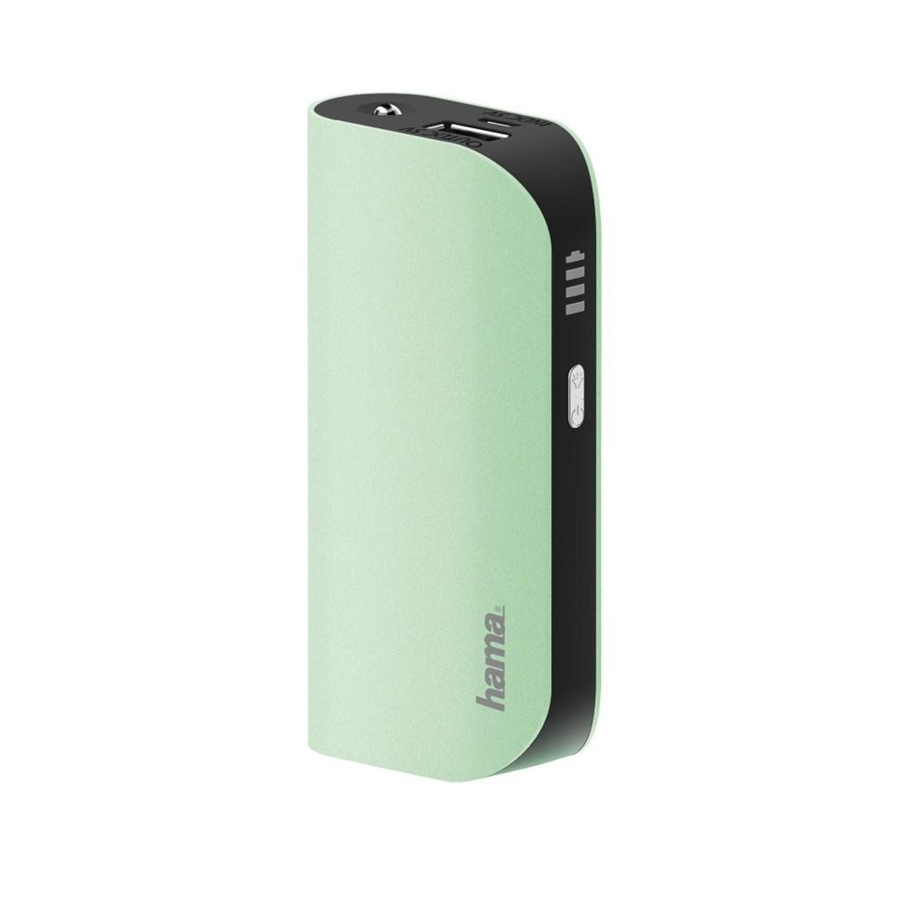Hama Design Line Power Pack, 5200 mAh, green