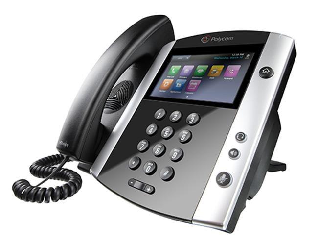 Polycom IP telefon VVX 601, SIP, 16 linkový, Bluetooth, kapacitní LCD, 2x USB, USB záznam, PoE