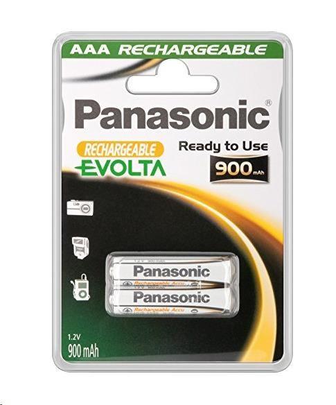 PANASONIC EVOLTA - Nabíjecí baterie A AA 900mAh 1,2V balení - 2ks