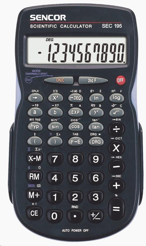Sencor kalkulačka SEC 195