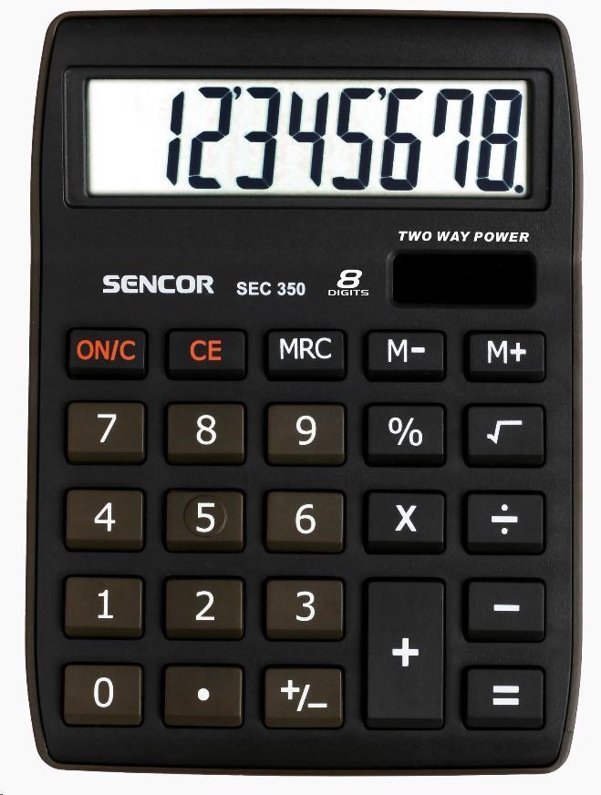 Sencor kalkulačka SEC 350