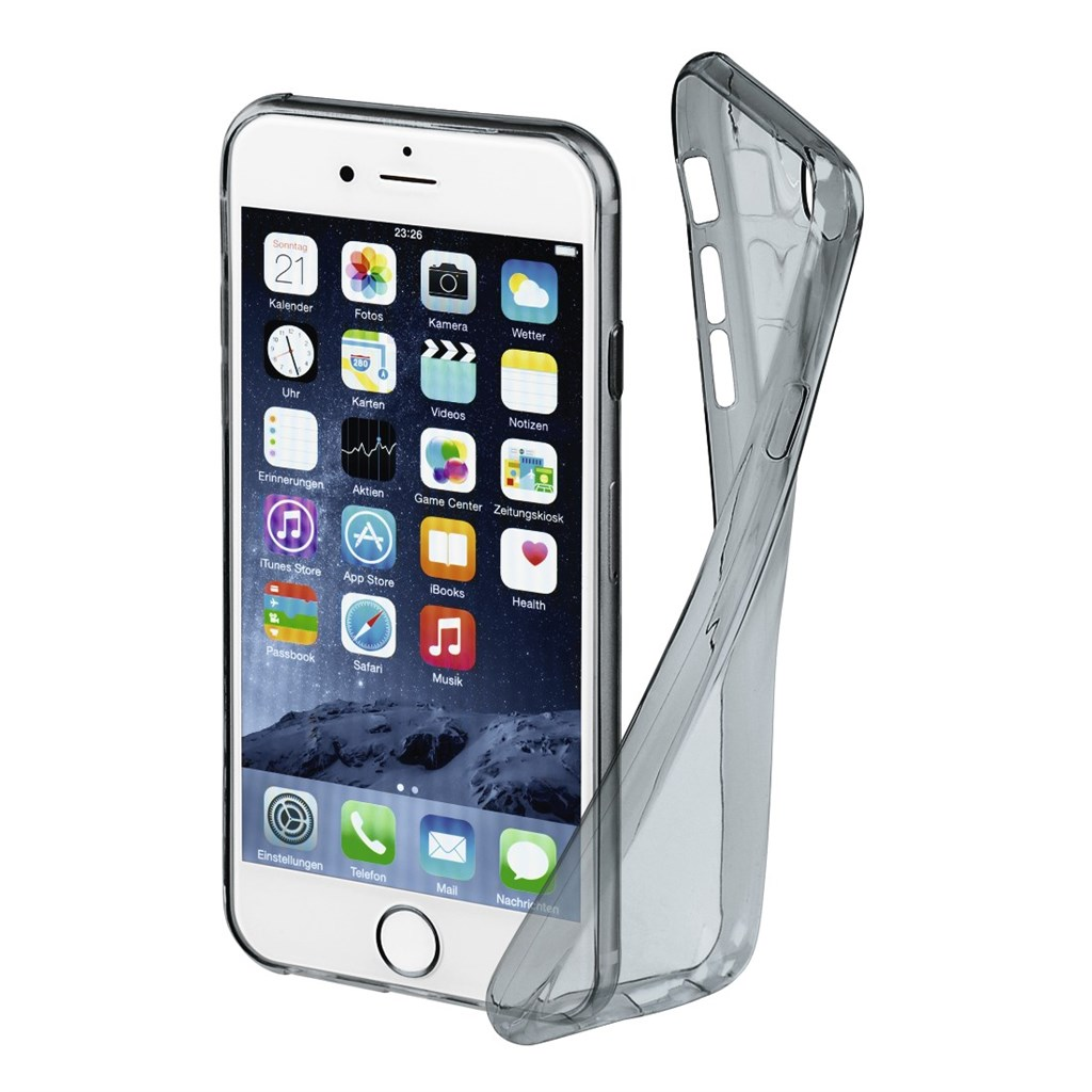 Hama Invisible Cover for Apple iPhone 6/6s/7, space-grey, limited edition