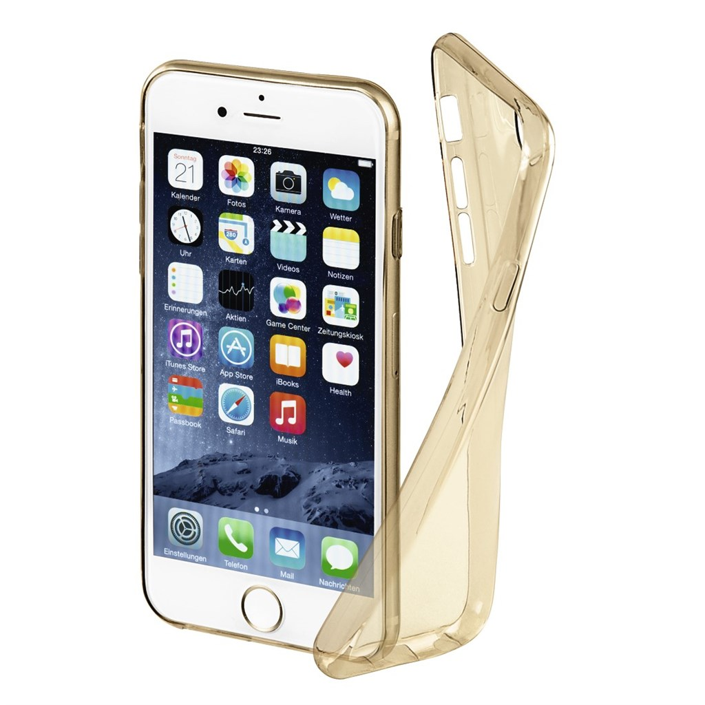 Hama Invisible Cover for Apple iPhone 6/6s/7, gold, limited edition