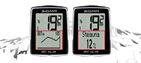 Sigma BC 14.16, kabelová verze, Smart