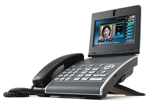 Polycom IP telefon VVX 1500, SIP/H.323, video a HD Voice, dotykový LCD, PoE