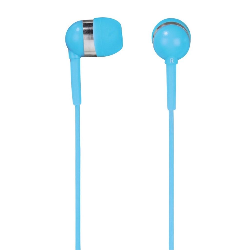 Hama sluchátka s mikrofonem Vivo, silikonové špunty, tyrkysová