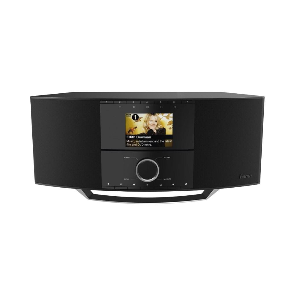 Hama internetové rádio DIR3500MCBT, IR/DAB+/FM/Multiroom/CD/BT/App