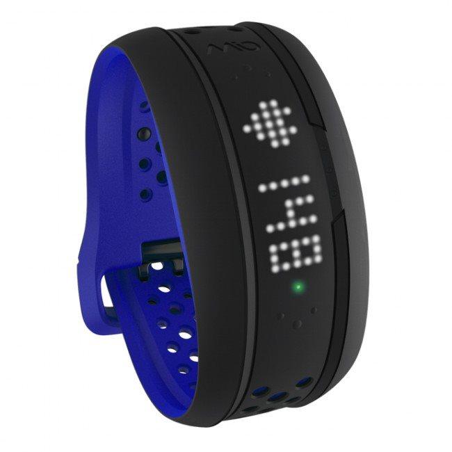 Mio FUSE senzor srdečního tepu, denní aktivity a spánku - dlouhý pásek - kobaltově modrý