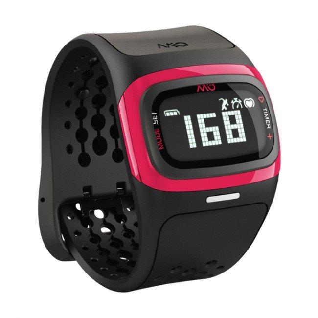 Mio ALPHA 2 sportovní hodinky BT se senzorem srdečního tepu - krátký pásek - růžovéMI-58P-PNK