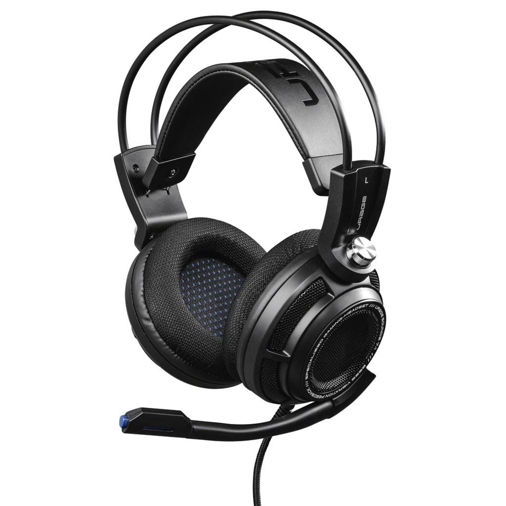 uRage gamingový headset SoundZ 7.1, černý