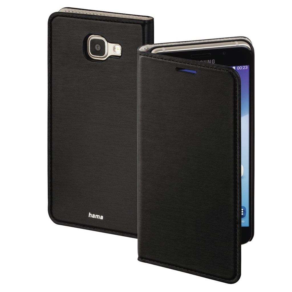 Hama Slim Booklet Case for Samsung Galaxy A5 (2016), black