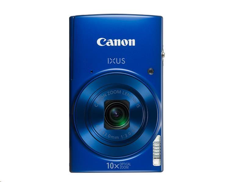Canon IXUS 190, 20MPix, 10x zoom, Wi-Fi, NFC - modrý