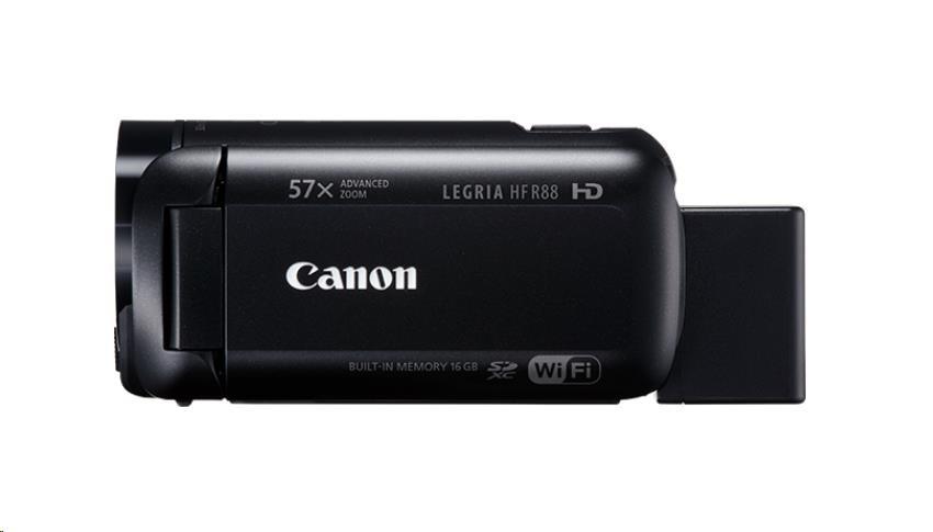 Canon Legria HF R88, Full HD, 57x zoom, WiFi - černá
