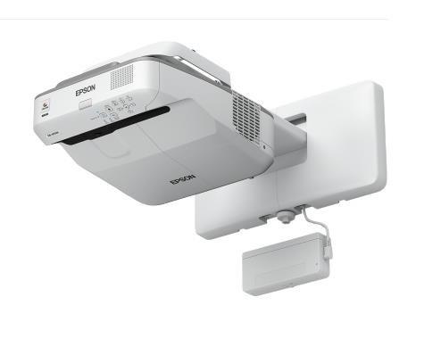 EPSON projektor EB-695Wi - 1280x800, 3500ANSI, HDMI, VGA, SHORT, LAN,9000h ECO životnost lampy, interaktivní