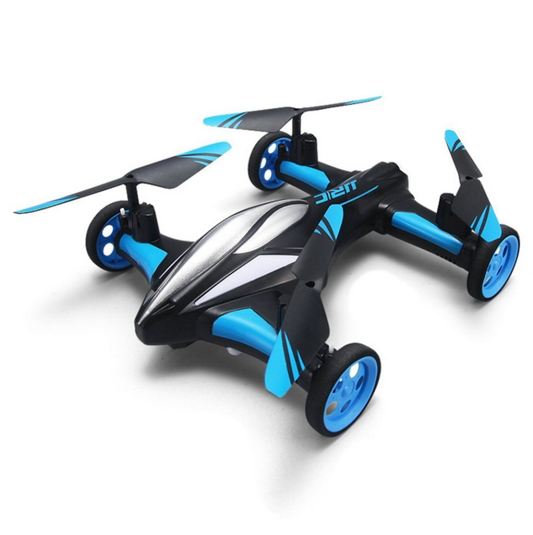 JJR/C H23 Mini Dron 2.4G 4 kanálový, 6osý gyroskop, kamera 1280 x 720, modrá
