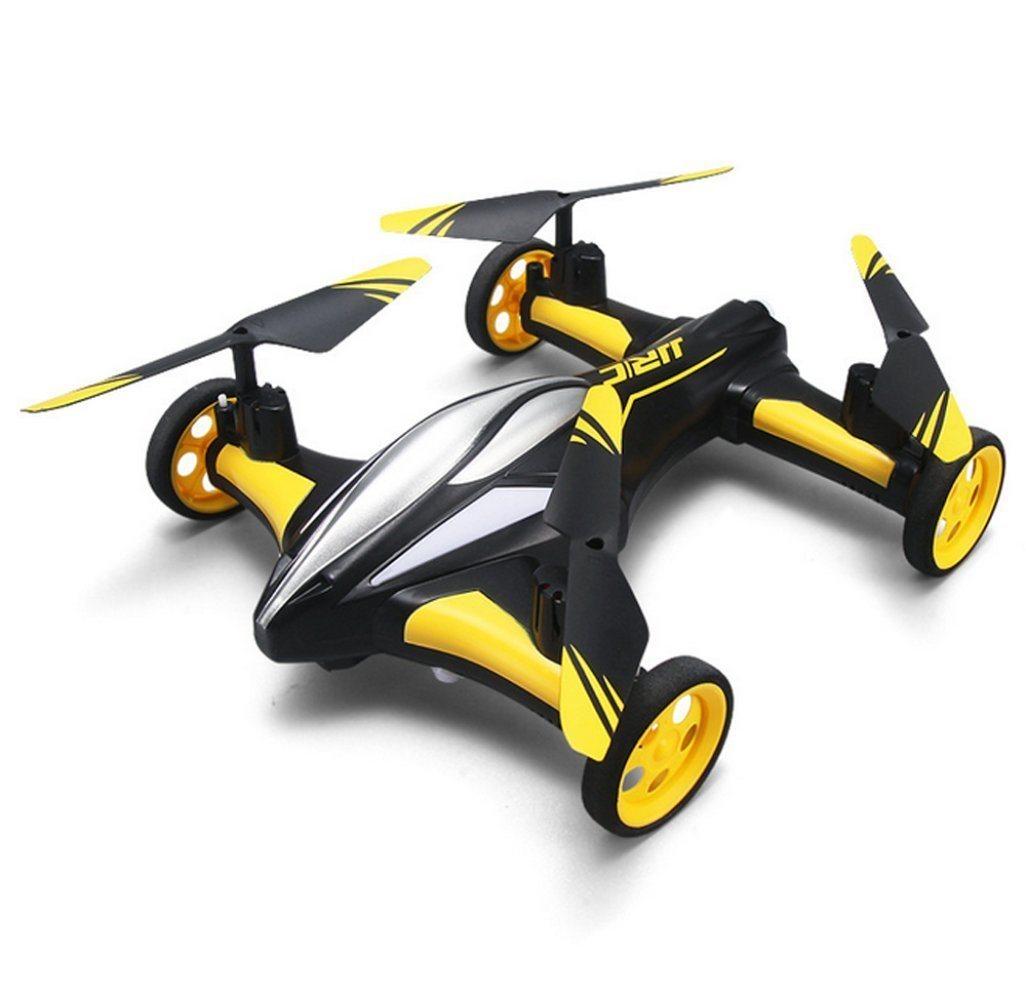 JJR/C H23 Mini Dron 2.4G 4 kanálový, 6osý gyroskop, kamera 1280 x 720, žlutá