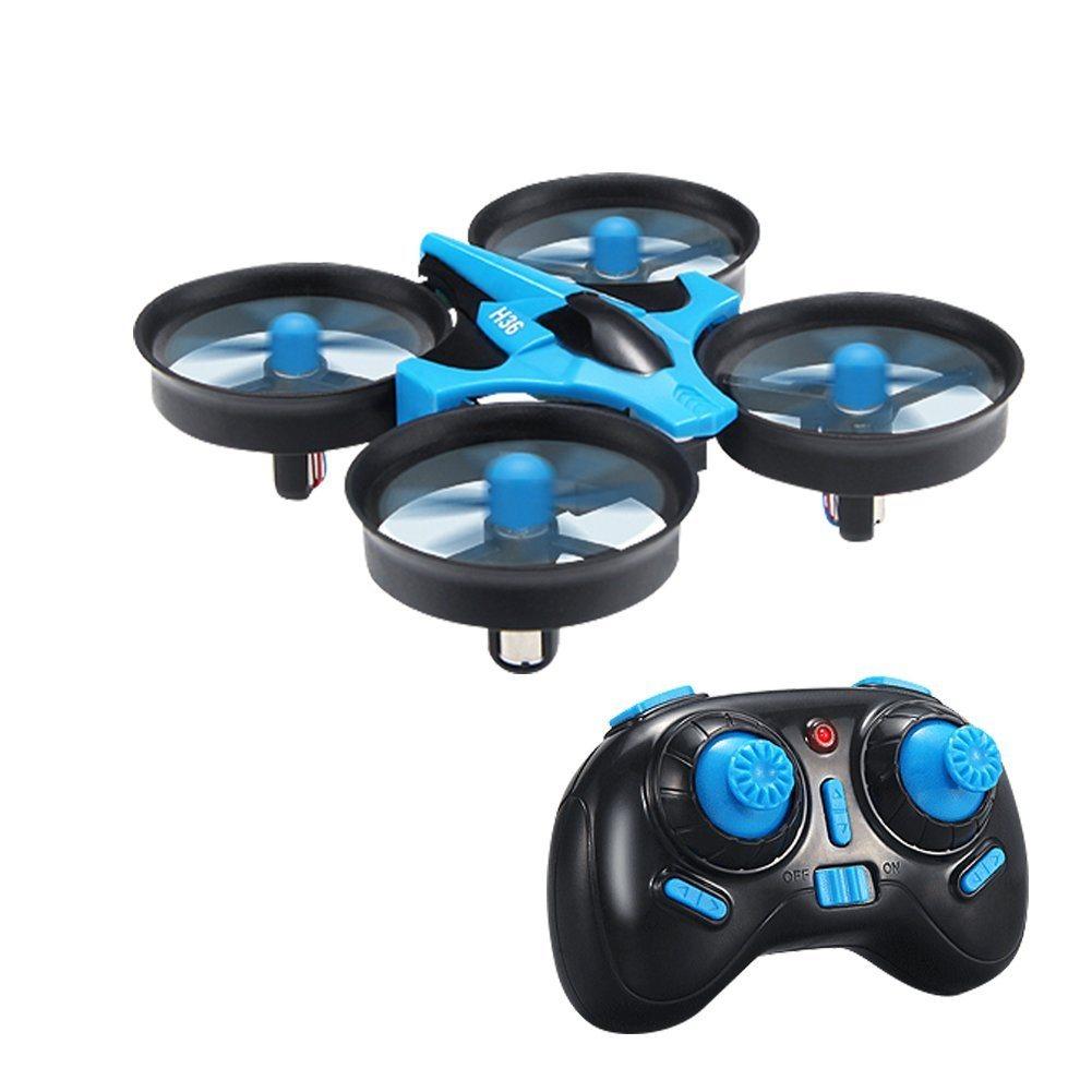JJR/C H36 Mini Dron 2.4G 4 kanálový, 6osý gyroskop, modrá