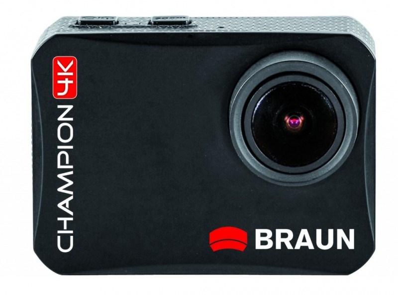 Braun outdoorová videokamera Champion 4K, WiFi, s vodotěsným pouzdrem