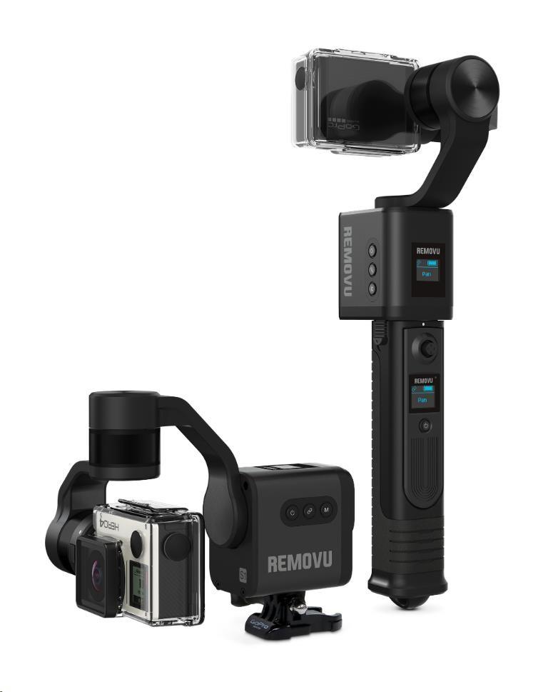 REMOVU S1 3-osý stabilizátor pro kamery GoPro