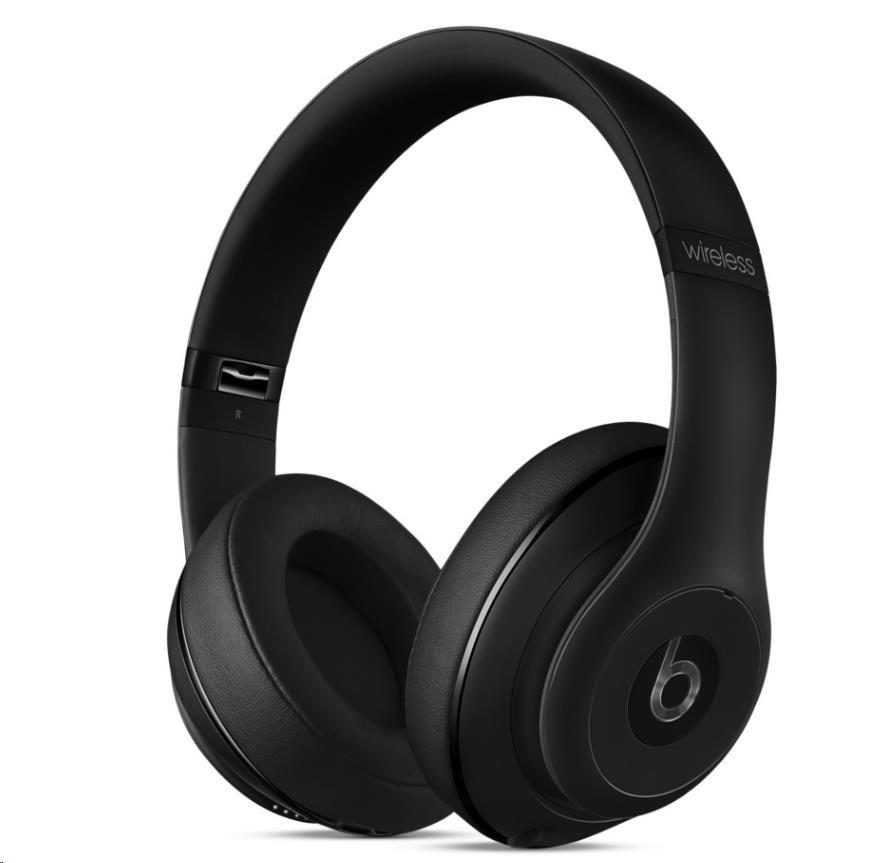 Beats Studio Wireless Over-Ear Headphones - Matt Black