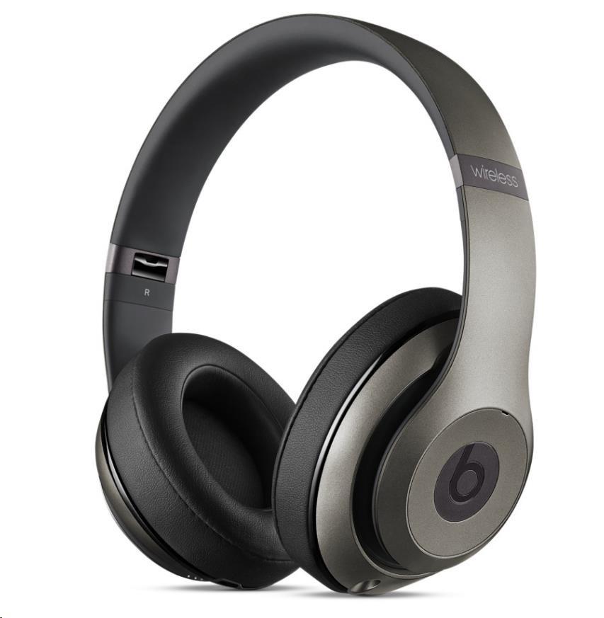 Beats Studio Wireless Over-Ear Headphones - Titanium