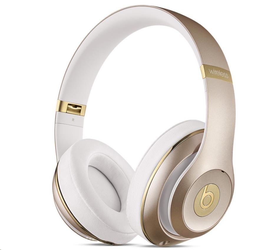 Beats Studio Wireless Over-Ear Headphones - Gold