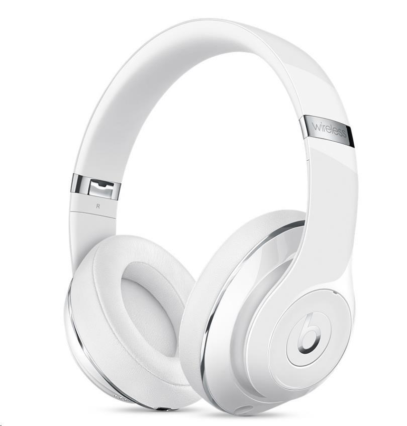 Beats Studio Wireless Over-Ear Headphones - Gloss White