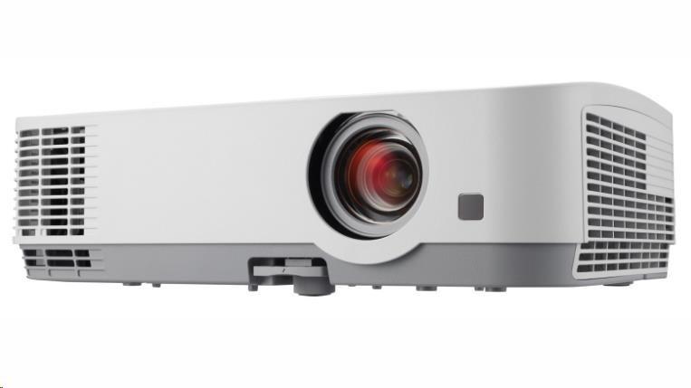 NEC Projektor 3LCD ME361W (1280 x 800WXGA, 3600ANSI,6000:1) 9000h, D-Sub,HDMI,RCA,Optional WLAN
