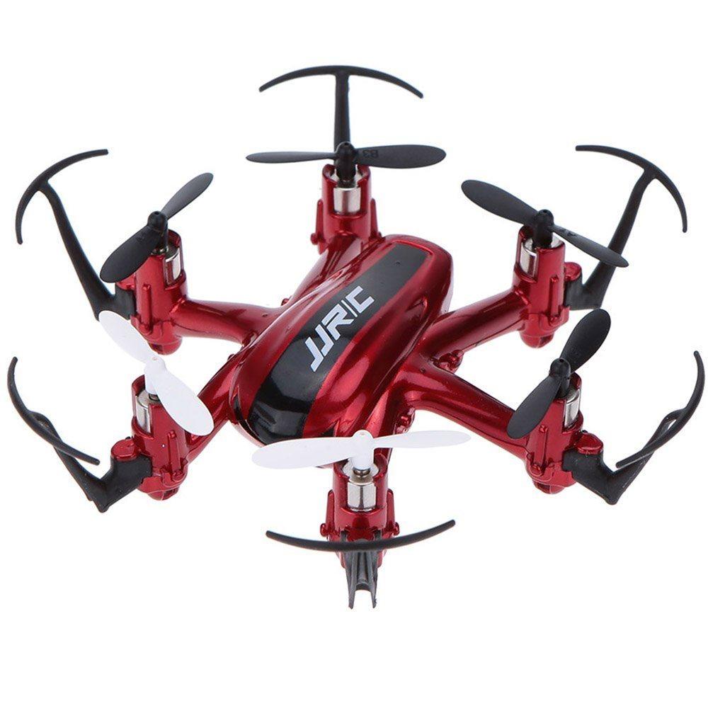 JJR/C H20 Mini Dron 2.4G 4 kanálový, 6osý gyroskop, červená