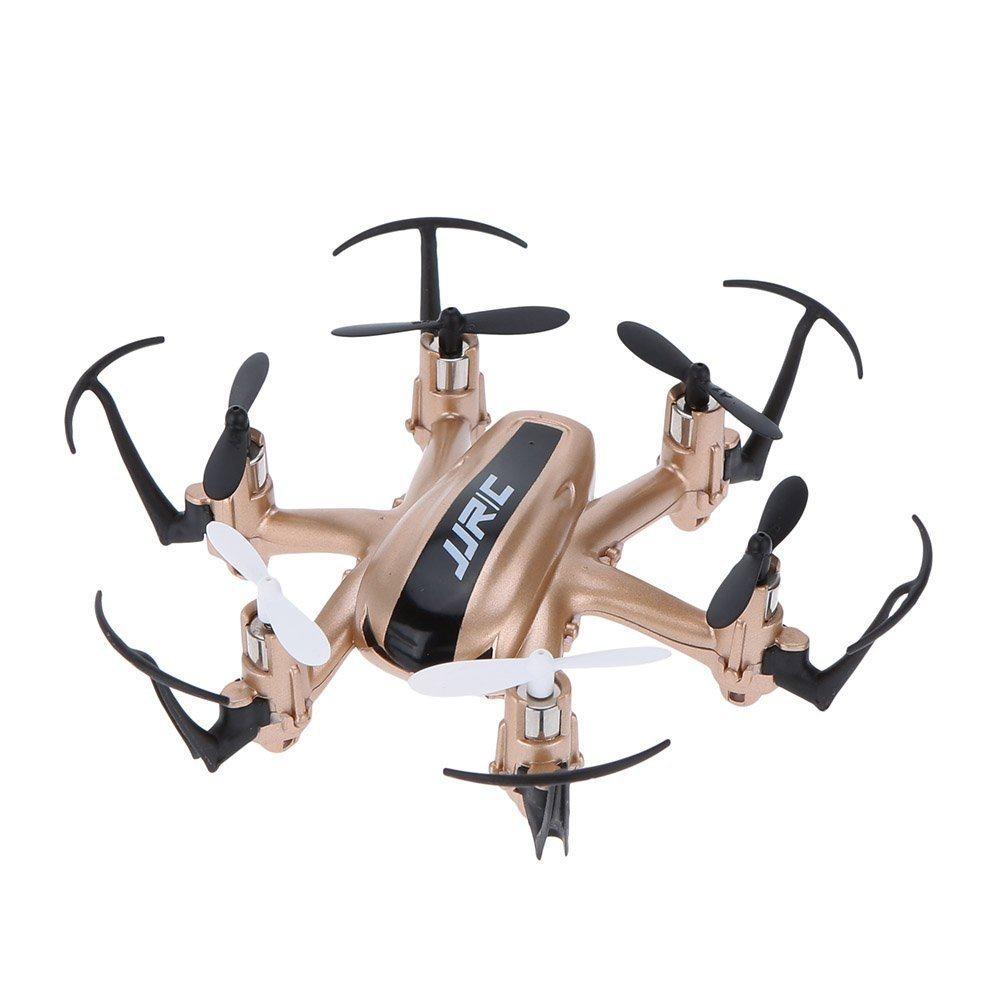 JJR/C H20 Mini Dron 2.4G 4 kanálový, 6osý gyroskop, zlatá