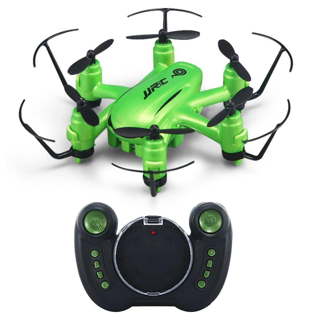JJR/C H33 Dron 2.4G 4 kanálový, 6osý gyroskop, kamera 1280 x 720, zelená