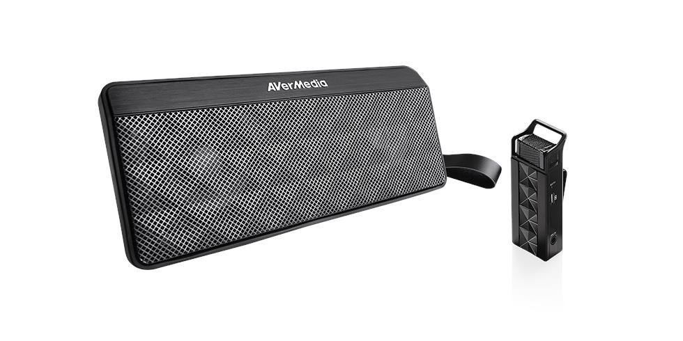 AVERMEDIA bezdrátový sound system AW330 vhodný pro výuku (repro 20W RMS + mikrofon)