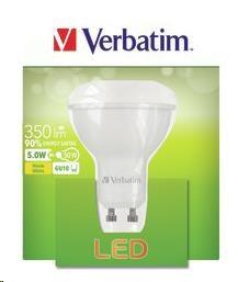 VERBATIM LED žárovka,LED PAR16 GU10 5W 2700K WW 350LM 35 Uhel