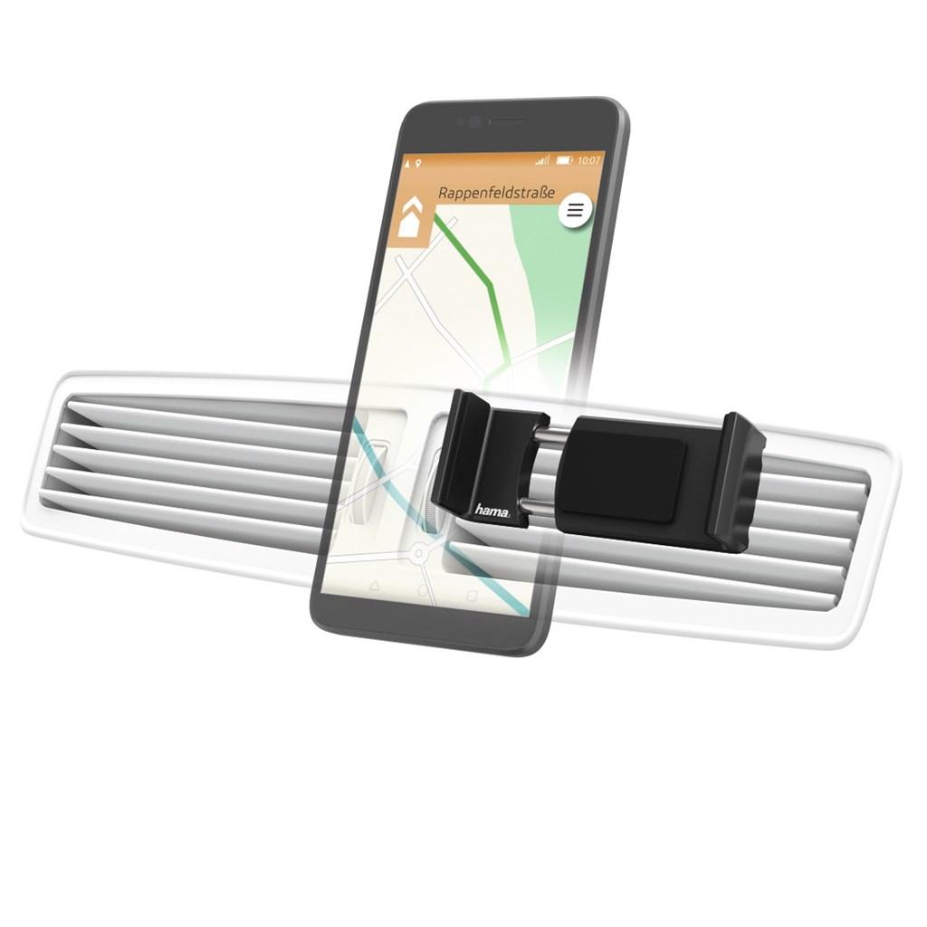 Hama Flipper, univerzální držák mobilu ve vozidle, pro šířku 6-8 cm, černý