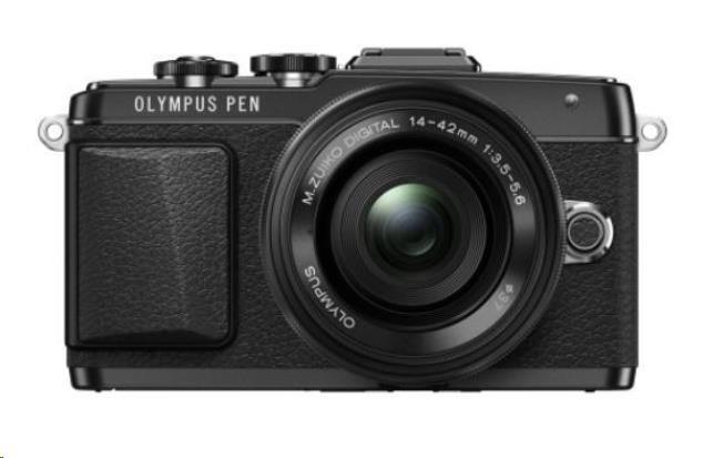 OLYMPUS PEN E-PL7 + 14-42mm EZ černý