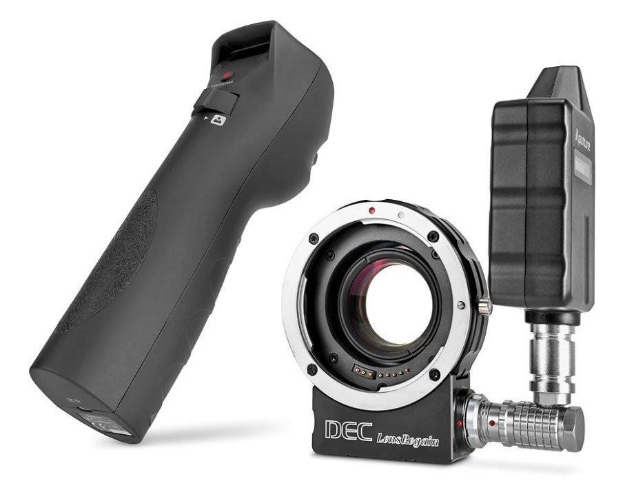 Aputure dálkově ovládaný DEC LensRegain adaptér pro objektivy Canon na úchyt MFT