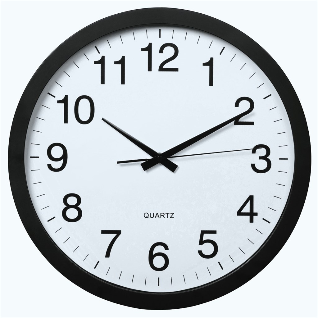 Hama PG-400 Jumbo, nástěnné hodiny, tichý chod