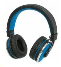 MANHATTAN Sound Science Cosmos Wireless Headphones, bluetooth, Black-Blue