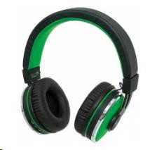 MANHATTAN Sound Science Cosmos Wireless Headphones, bluetooth, Black-Green