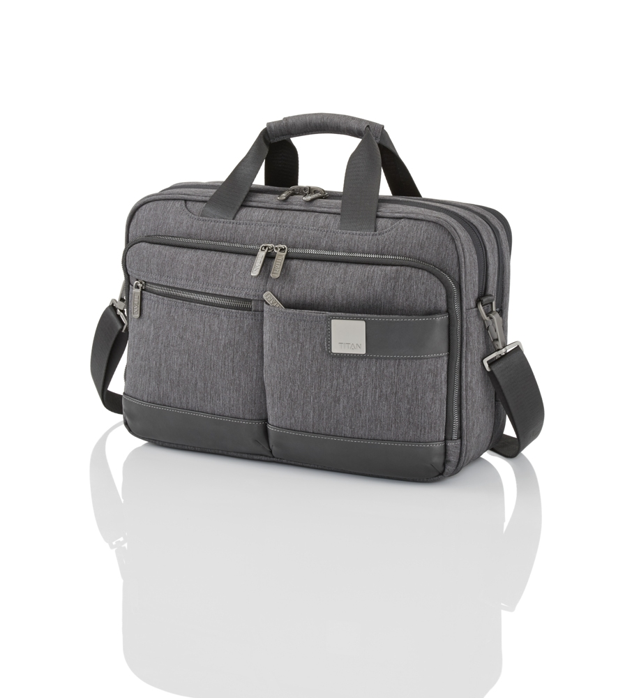 Titan Power Pack Laptop Bag S Anthracite