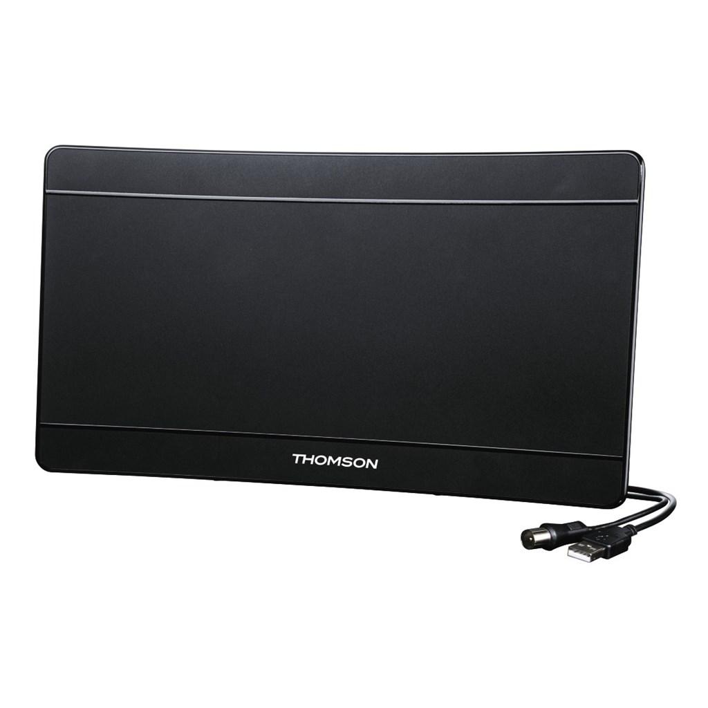 Thomson aktivní pokojová anténa ANT1706, 43 dB, USB, prohnutá