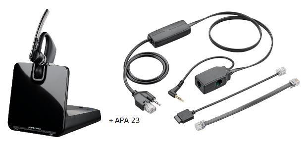 PLANTRONICS Bluetooth Headset Voyager Legend CS B335 + APA-23