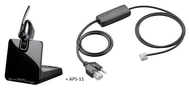 PLANTRONICS Bluetooth Headset Voyager Legend CS B335 + APS-11