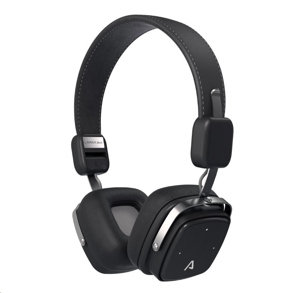 LAMAX Elite E-1 náhlavní sluchátka - černé